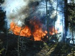 fire, Woodland Park, wildland fire, controlled burn